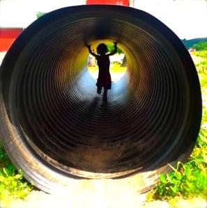 Un Tunnel de Tube