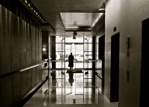 Doorman at the R. C. Residences
